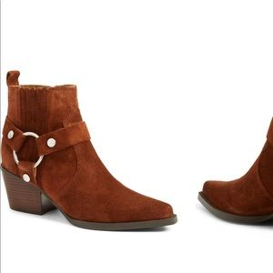 NEW • Marc Fisher • Halie Harness Ankle Boots 7